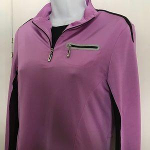 Jamie Sadock Golf / Tennis Long Sleeve Quarter zip